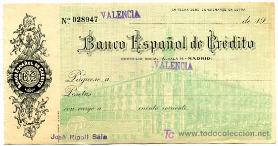 cheque en blanco