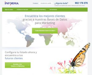 marketplace de marketing de informa